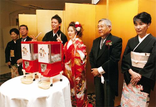 「ご結婚式・披露宴」でガチャガチャ活用例_4