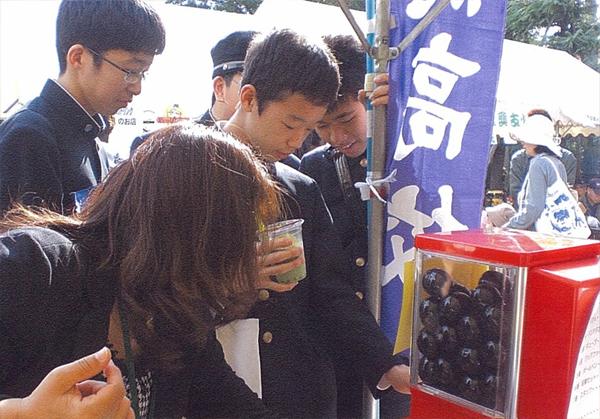 名古屋市 「オータムフェスティバル」_ガチャガチャ使用例_1