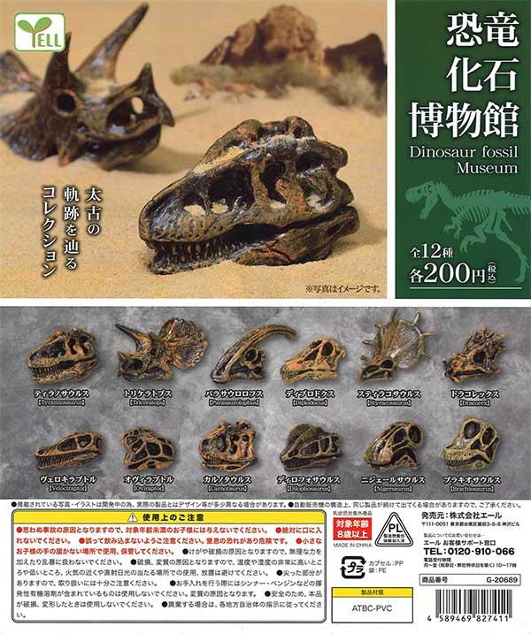 恐竜化石博物館 (50個入り)