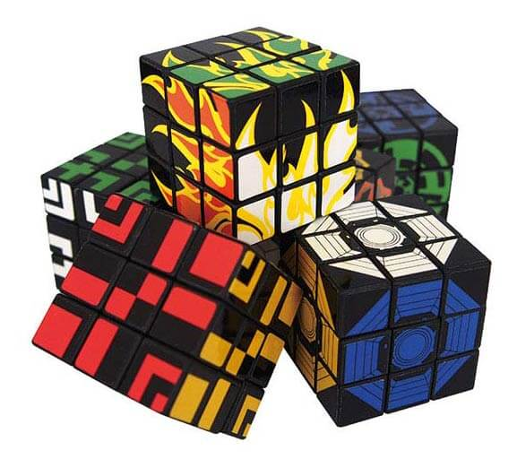 <without capsules> Three-dimensional puzzle cube (50 pieces)