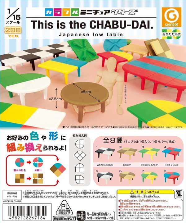 【Z11】《11月再販》This is the CHABU-DAI. (50個入り)【予約商品】