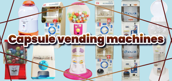 Capsule-vending-machines