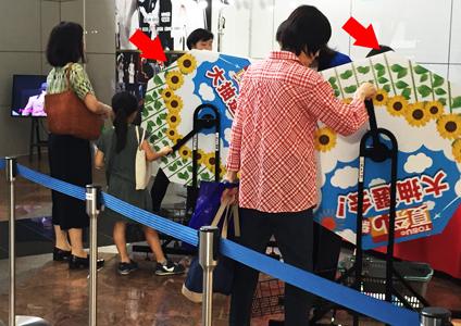 レンタル「ガラポンBIG」東武百貨店様_ガラポンBIG回ってます!