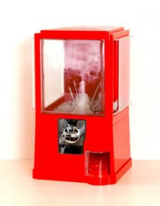 ガチャガチャ本体500円機 ガチャコップL‗レッド