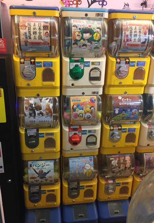 台湾でガチャガチャ人気‗店頭の様子