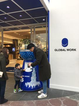 GLOBALWORK博多店様ジャイアントガチャにチャレンジ2